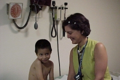 08-30-00 Jonathan with Dr. Rosales